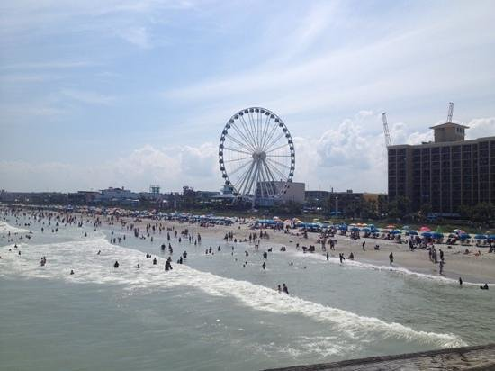 Myrtle Beach Boardwalk & Promenade: 4th of July