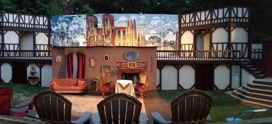 The Montford Park Players: Shot of the Set