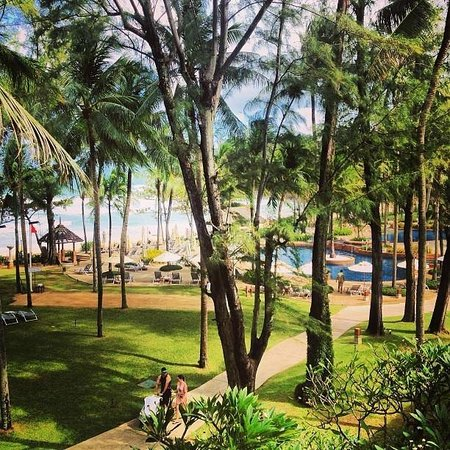 Katathani Phuket Beach Resort : View from junior suite, 3rd floor