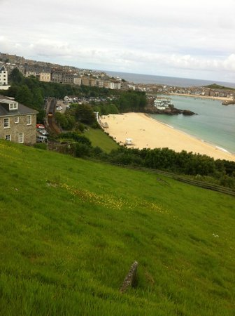 Boskerris Hotel: Looking towards St Ives