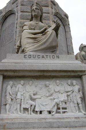 National Monument to the Forefathers: Education