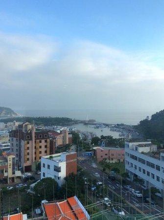 Jeju Ocean Palace Hotel : outside the window