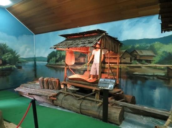 Malay Technology Museum : water village exhibit