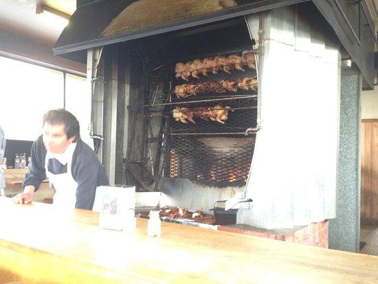 Little Chicken House : Chicken roasting...
