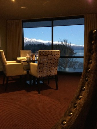 Hotel St Moritz Queenstown - MGallery Collection: View from lovely dining room
