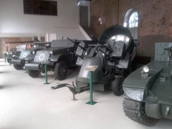 Military Museum: Tanques