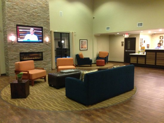 Comfort Suites near Westchase on Beltway 8: Lobby