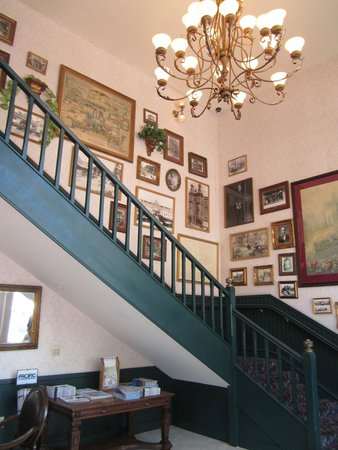 Staircase at the Horton Grand Hotel
