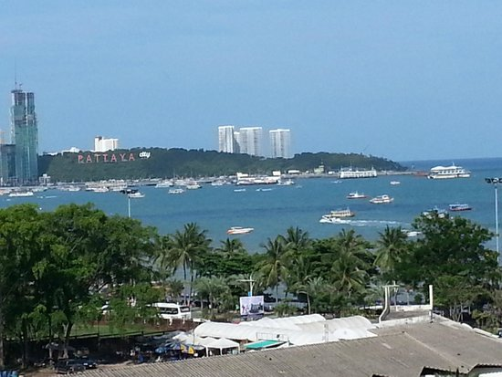 Pattaya Discovery Beach Hotel: View from the Balcony