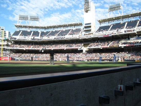 Petco Park, Section FI114, Row 1, Seat 18, San Diego, CA