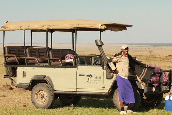 Saruni Mara: John our Amazing guide!