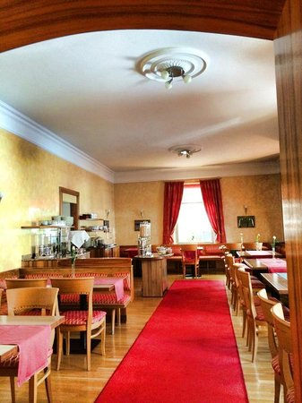Hotel Mozart : Breakfast room