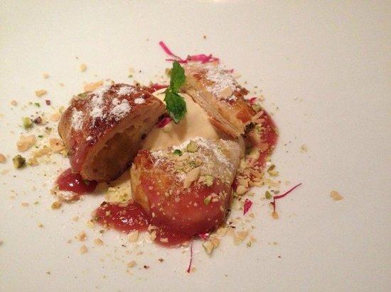 hacienda amarte maroma: Delicious dessert,the winner in the dessert contest of Valladolid