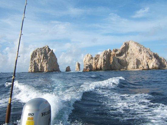 Sushi Time Sport Fishing: scenery