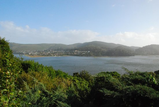 Fish Eagle Lodge: Knysna Lagoon...from the room