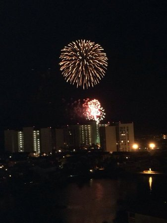 Resorts of Pelican Beach: Fireworks
