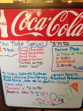 Big Mike's Soul Food: Specials