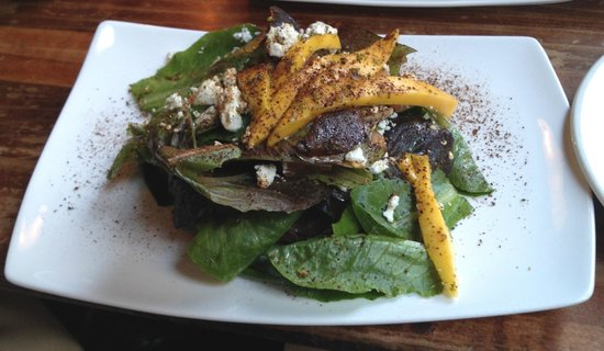 Mango and Goat Cheese Salad - Picture of Calabash Bistro, Vancouver ...