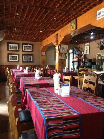 Shiva Guest House1 & 2: cafe corner