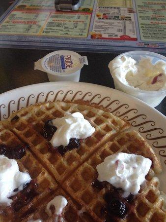 Waffle House: Blueberry Waffles