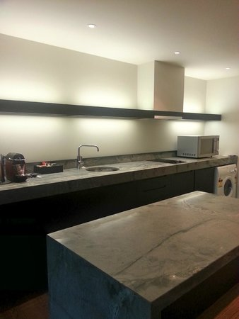 SKYCITY Grand Hotel: Kitchen area