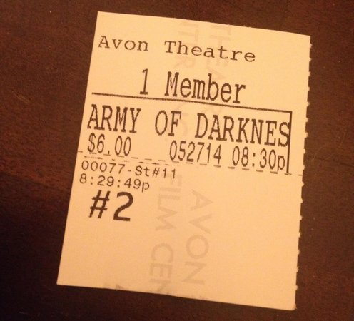 Avon Theatre Film Center : Army of Darkness