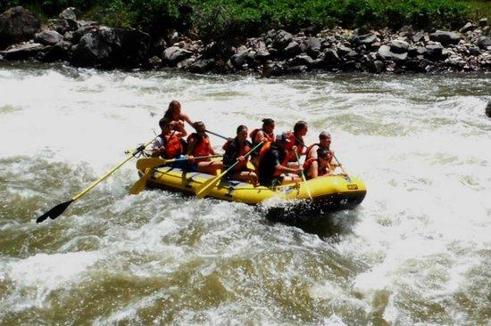 Whitewater Rafting, LLC: Shoshone rapids
