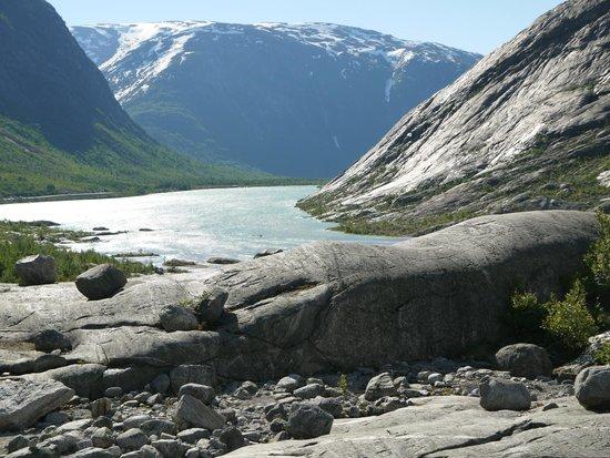 Ледник Nigardsbreen Glacier