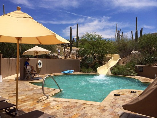The Ritz-Carlton, Dove Mountain: 4 story sloped slide