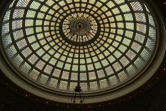 Chicago Cultural Center: Largest Tiffany Dome in the World
