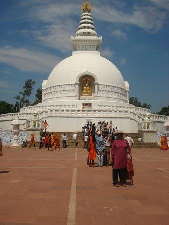 Rajgir: Peace Pagoda