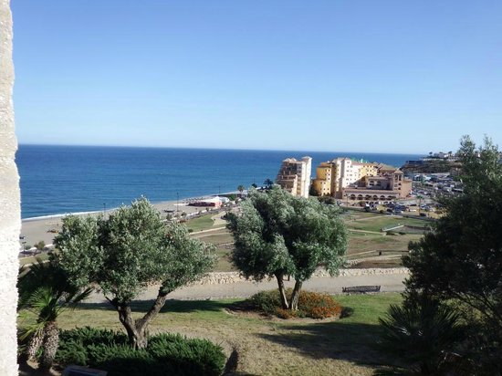 Hotel IPV Palace & Spa: Hotel from Fuengirola Castle