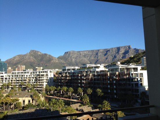 One&Only Cape Town: View of Table Mountain from 4th Floor One and Only