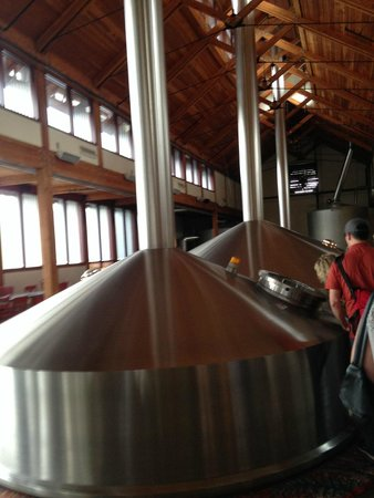 New Belgium Brewing : Fermenters