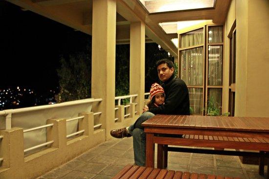 Sinclairs Darjeeling : Balcony