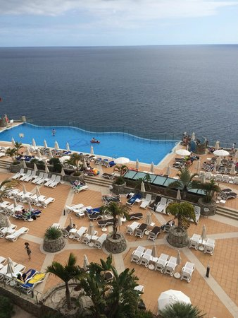 Gloria Palace Amadores Thalasso & Hotel: View from bedroom balcony