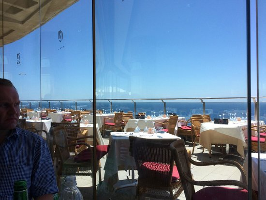 Gloria Palace Amadores Thalasso & Hotel : Dining rooom terrace