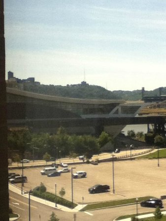 Hampton Inn & Suites Pittsburgh - Downtown: Seen from room 705