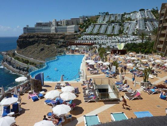 Gloria Palace Amadores Thalasso & Hotel : Upper pool area