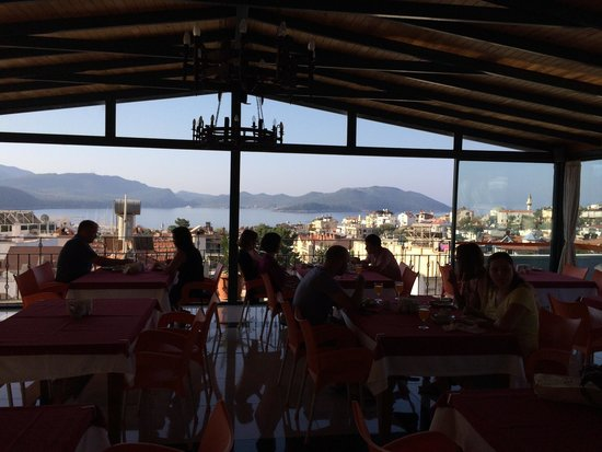 Hotel Kekova: Breakfast on the top floor