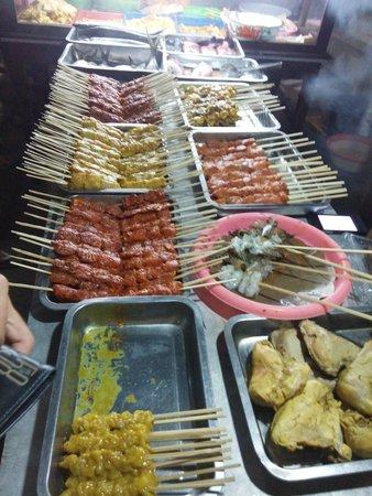 Gili Trawangan Night Market: Sate yang saya beli