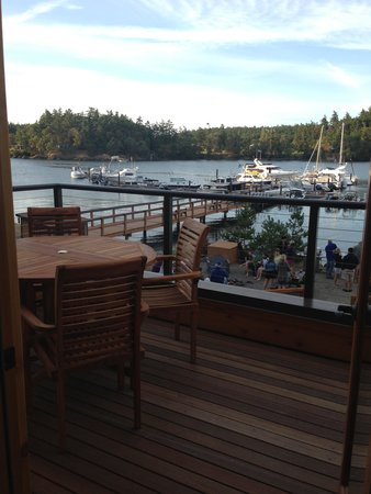 Snug Harbor Resort & Marina: View from Lanai
