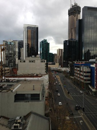 Mantra Southbank Melbourne : view from room