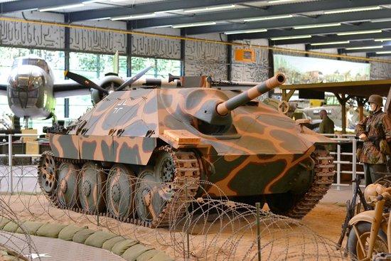 "Overloon War Museum: Jagdpanzer 38(t) (Sd.Kfz. 138/2) ""Hetzer"""