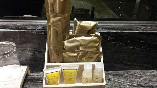 Royal Plaza Hotel: Toiletries