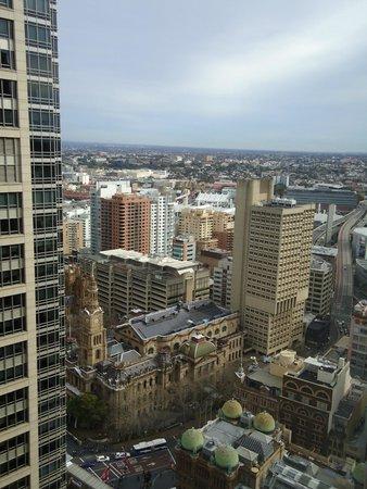 Hilton Sydney: sydney skyline