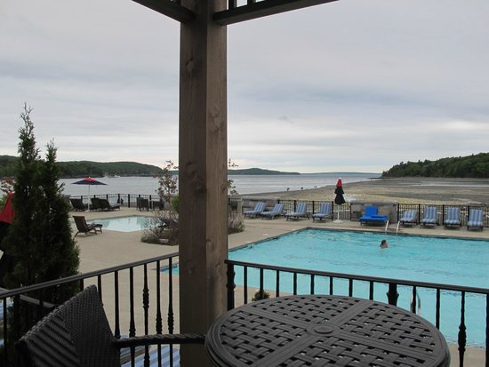 Harborside Hotel & Marina: View from spa pool