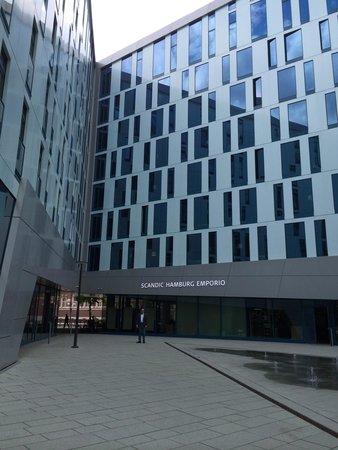 Scandic Hamburg Emporio: Hotel Scandic