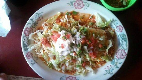 Paso Del Norte : Huge fajita burrito to share