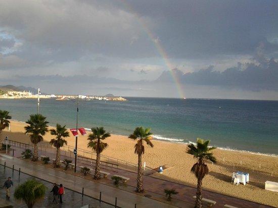 Allon Mediterrania Hotel: Фото с балкона